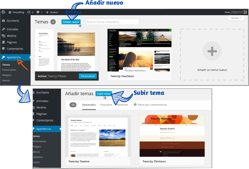 Cómo instalar Genesis framework de StudioPress 01