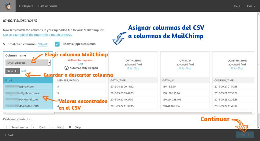 Enviar correo masivo Mailchimp 08