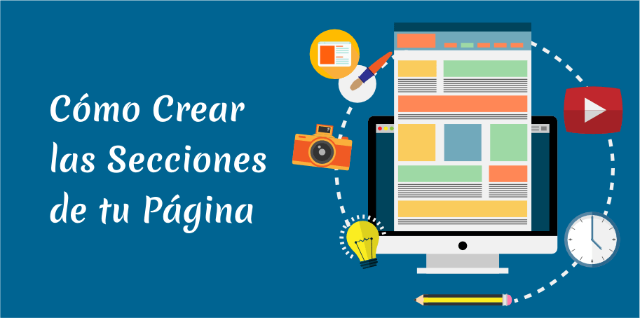 crear secciones wordpress