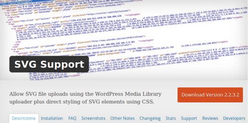 SVG Support: Gráficos vectoriales en WordPress