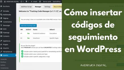Tracking Code Manager: Gestiona tus códigos de seguimiento