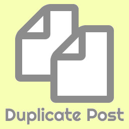 Plugin Duplicate Posts