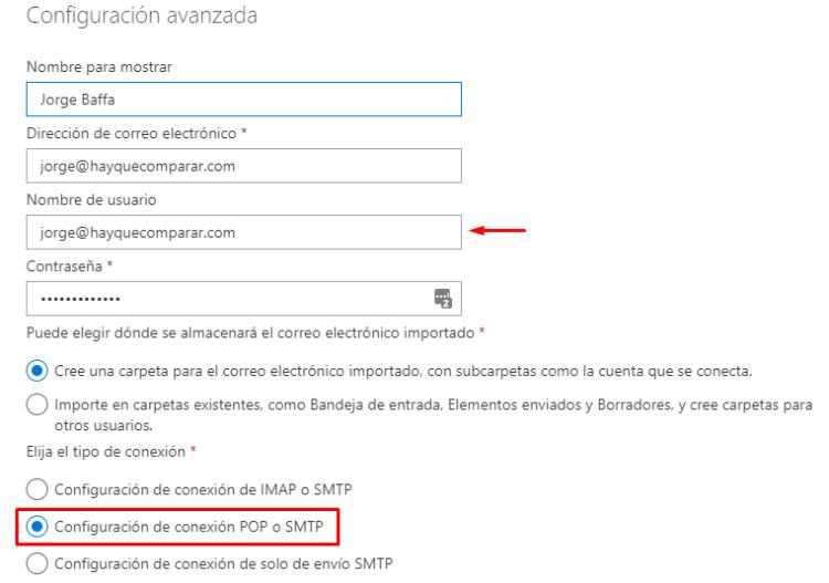Configurar correo con dominio propio en Outlook.com