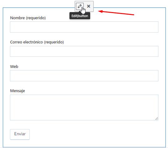 Editar formulario contacto Jetpack