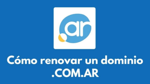 ¿Cómo renovar un dominio .COM.AR?