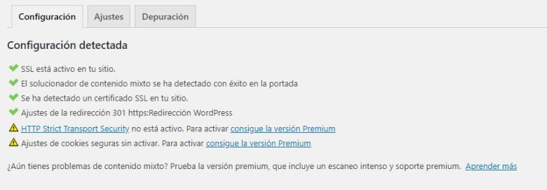 Configurar Really Simple SSL