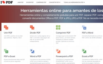 I Love PDF: Une y comprime tus PDF