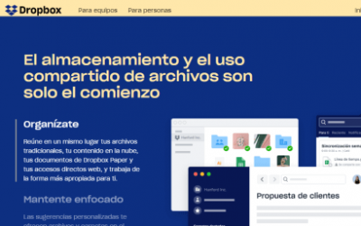 Dropbox: Almacenamiento en la nube y sincronización