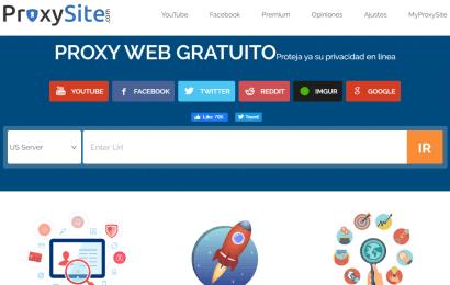 ¿Qué es Proxy Site?