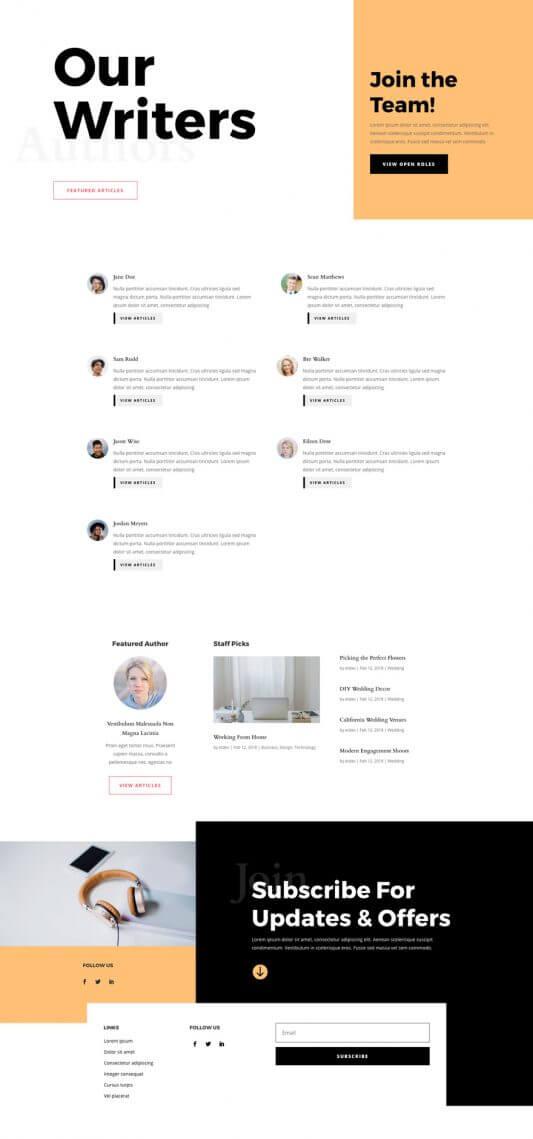 Plantilla WordPress para Sitios de Noticias