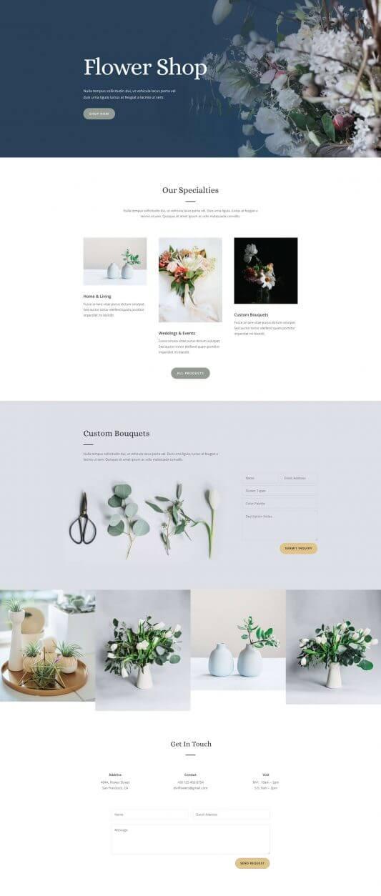 Floristas y Tiendas de Flores