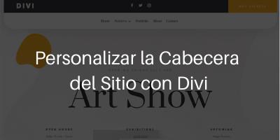 Cabecera Divi WordPress