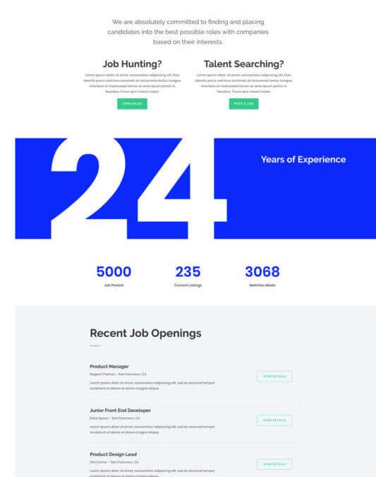 Agencias de Empleo y Recursos humanos