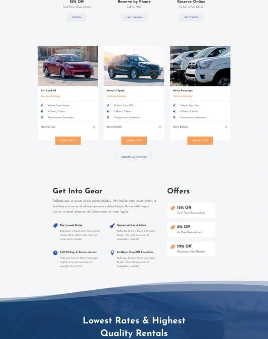 Alquiler de Automóviles