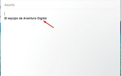 Cómo crear una firma automática con Gmail