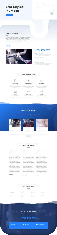 Plantilla WordPress para Plomeros y Fontaneros