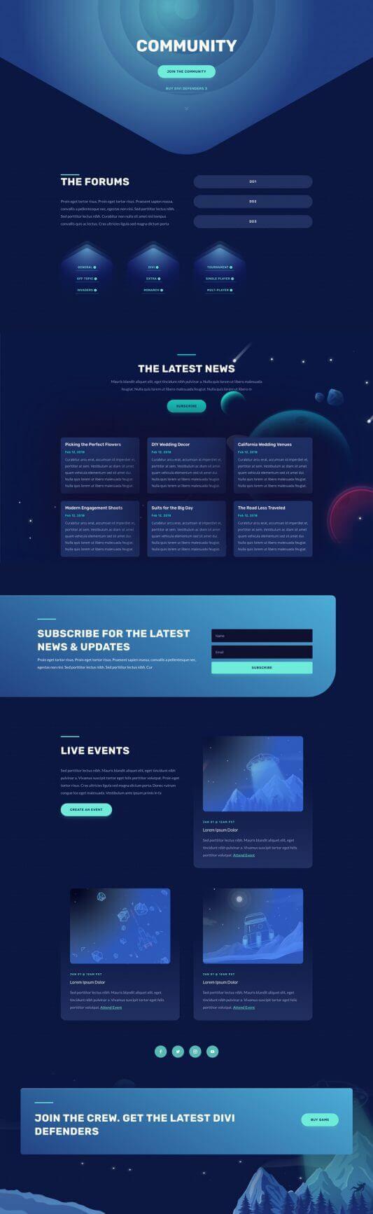 Plantilla WordPress para Video Juegos