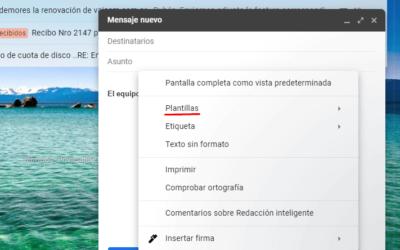 Cómo configurar las Plantillas de Gmail