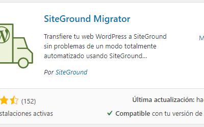 Cómo Migrar tu sitio a SiteGround