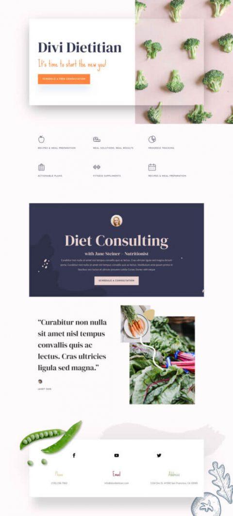 Sitios sobre dietas