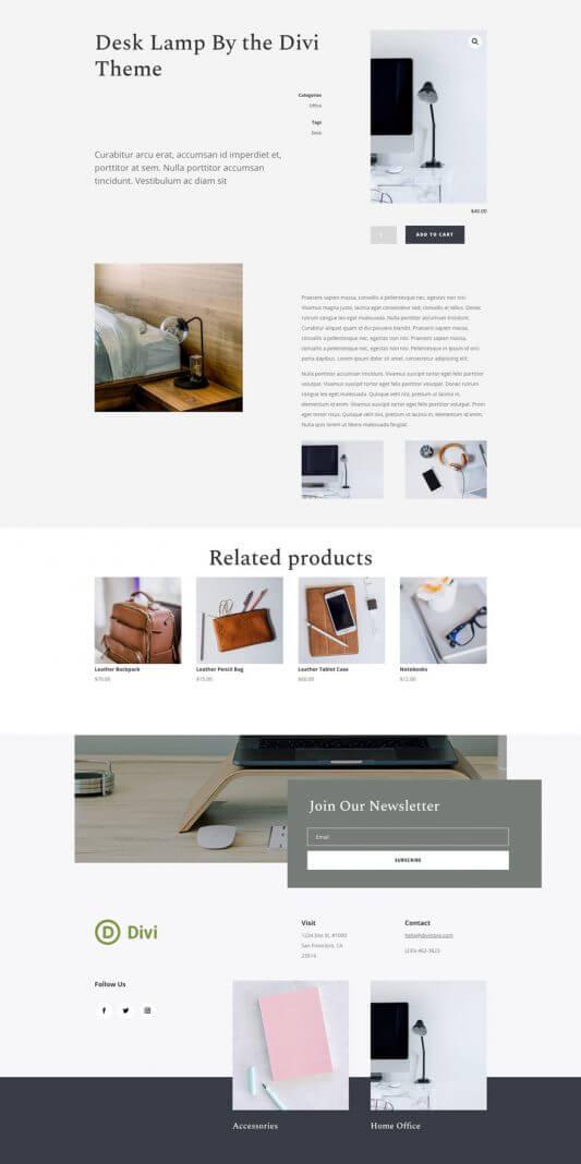 Plantilla WordPress para Tiendas online