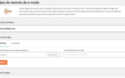 Cómo Configurar Reenvíos de Email con SiteGround