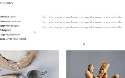 Cómo Hacer un Blog de Recetas de Cocina con Divi