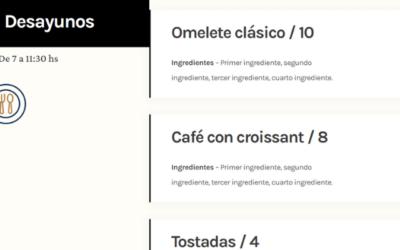 Cómo Hacer un Menú de Restaurante Online con Divi