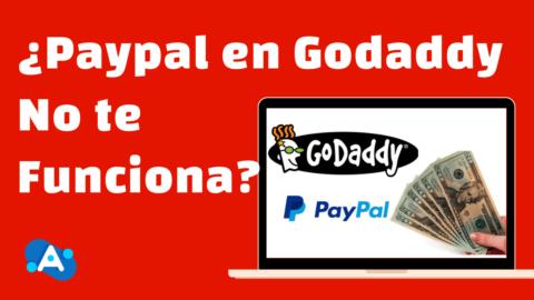 Paypal No Funciona en Godaddy (Solución)